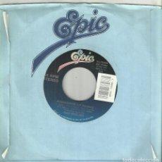 Discos de vinilo: BAD ENGLISH SINGLE PROMOCIONAL POSSESSION - TOUGH TIMES DON'T LAST 1989. Lote 133841794