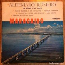 Discos de vinilo: ALDEMARO ROMERO PIANO Y RITMO LP CYMBAL EDIC VENEZUELA. Lote 133845918