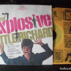 Discos de vinilo: LITTLE RICHARD EL PAIS DE LAS 1000 DANZAS EP SPAIN 1967 PEPETO TOP . Lote 133853006
