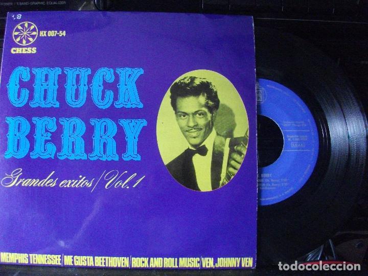 CHUCK BERRY GRANDES EXITOS VOL. 1 EP SPAIN 1964 PEPETO TOP (Música - Discos de Vinilo - EPs - Jazz, Jazz-Rock, Blues y R&B)