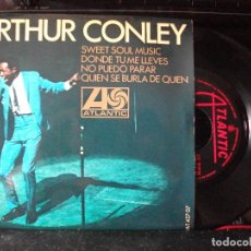 Discos de vinilo: ARTHUR CONLEY SWEET SOUL MUSIC + 3 EP SPAIN 1967 PEPETO TOP . Lote 133853858