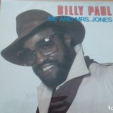 Discos de vinilo: BILLY PAUL ME AND MRS. JONES / YOUR SONG SINGLE. Lote 133860774