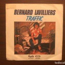 Discos de vinilo: LAVILLIERS – TRAFFIC SELLO: BARCLAY – 02.2250/1 FORMATO: VINYL, 7 , 45 RPM, SINGLE, PROMO. Lote 133862366