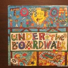 Discos de vinilo: TOM TOM CLUB ?– UNDER THE BOARDWALK SELLO: ISLAND RECORDS ?– B-104526 FORMATO: VINYL, 7 PROMO. Lote 133863354