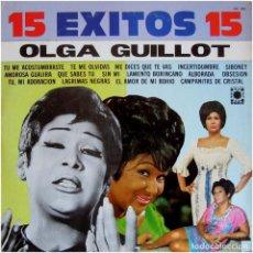 Discos de vinilo: OLGA GUILLOT - 15 ÉXITOS 15 - LP MEXICO 1984 - OASIS OA-383. Lote 133866938