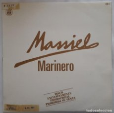 Discos de vinilo: MAXI - MASSIEL - MARINERO / MAS FUERTE - HISPAVOX 004 - 1983 - PROMO. Lote 133867370