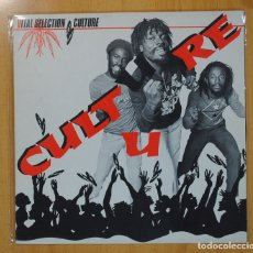 Discos de vinilo: CULTURE U - VITAL SELECTION - LP. Lote 133882738