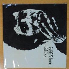 Discos de vinilo: VICTOR JARA - TE RECUERDO AMANDA - LP. Lote 133888899