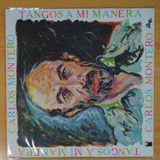 Discos de vinilo: CARLOS MONTERO - TANGOS A MI MANERA - LP. Lote 133889058