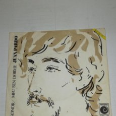 Discos de vinilo: JUAN PARDO SINGLE LEONOR / MEU BEN DORME. Lote 133891330