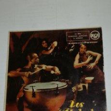 Discos de vinilo: LOS CHAKACHAS EP ESO ES EL AMOR + 3. Lote 133891954