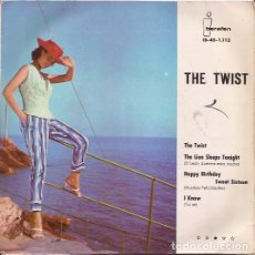 Discos de vinilo: EP- THE TWIST VARIOS IBEROFON 1113 SPAIN 1961 BILLY ADAMS JOEY GRANT KIT FLEMING VAL PALMER. Lote 133892058