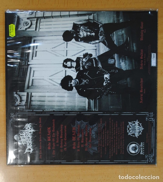 Discos de vinilo: HELL DESECRATOR - THE EVIL SPIRITS RETURN FROM THE DEATH - LP - Foto 2 - 133892825