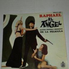 Discos de vinilo: RAPHAEL EP EL ÁNGEL BANDA SONORA ORIGINAL DE LA PELÍCULA. Lote 133893614