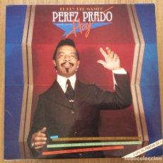 Discos de vinilo: PEREZ PRADO EL REY DEL MAMBO DOBLE LP MUY BIEN CONSERVADO. Lote 133894510