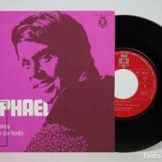 Discos de vinilo: DISCO EP DE VINILO - RAPHAEL, TÚ VOLVERÁS, A PESAR DE TODO - BCD - AÑO 1970. Lote 133896915