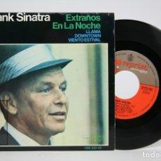 Discos de vinilo: DISCO EP DE VINILO - FRANK SINATRA, EXTRAÑOS EN LA NOCHE, LLAMA.... - REPRISE, HISPA VOX - AÑO 1966. Lote 133897093