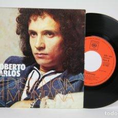 Discos de vinilo: DISCO EP DE VINILO - ROBERTO CARLOS, LA DISTANCIA, LA MONTAÑA - CBS - AÑO 1973. Lote 133897201