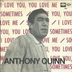 Discos de vinilo: ANTHONY QUINN. SINGLE. SELLO CAPITOL. EDITADO EN ESPAÑA. AÑO 1967. Lote 133902826
