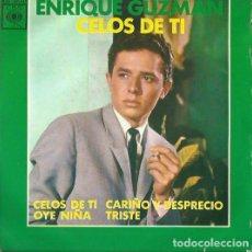 Discos de vinilo: ENRIQUE GUZMAN. EP. SELLO CBS. EDITADO EN ESPAÑA. AÑO 1963. Lote 133904902