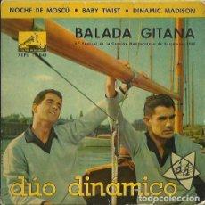 Discos de vinilo: DUO DINAMICO. EP. SELLO LA VOZ DE SU AMO. EDITADO EN ESPAÑA. AÑO 1962. Lote 133905342