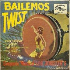 Discos de vinilo: LOS JORISTER´S. EP. SELLO CUBALEGRE. EDITADO EN ESPAÑA. AÑO 1962. Lote 133905914