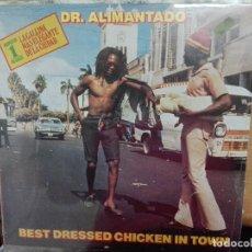Discos de vinilo: DR. ALIMANTADO - BEST DRESSED CHICKEN IN TOWN, 1980 ESPAÑA. NUEVO,PRECINTADO, A ESTRENAR. Lote 133905974