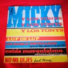 Discos de vinilo: MICKY Y LOS TONYS LUP DE LUP. Lote 133906103