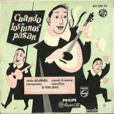 Discos de vinilo: TUNA ESTUDIANTINA DE MADRID. EP. SELLO PHILIPS. EDITADO EN ESPAÑA. AÑO 1960. Lote 133906914