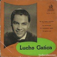 Discos de vinilo: LUCHO GATICA. EP. SELLO ODEON. EDITADO EN ESPAÑA.. Lote 133907114