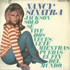Discos de vinilo: NANCY SINATRA. EP. SELLO HISPAVOX/REPRISE. EDITADO EN ESPAÑA. AÑO 1967. Lote 133907762