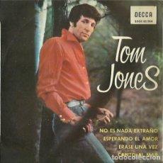 Discos de vinilo: TOM JONES. EP. SELLO DECCA DISCOS. EDITADO EN ESPAÑA. AÑO 1965. Lote 133907890