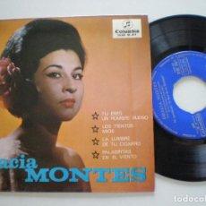 Discos de vinilo: GRACIA MONTES - TU ERES UN HOMBRE BUENO +3 -EP COLUMBIA 1965. Lote 133911822