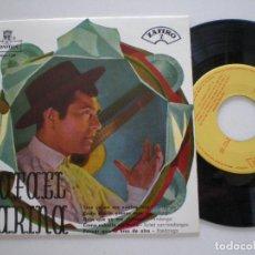 Discos de vinilo: RAFAEL FARINA - QUE YA NO ME VUELVE LOCO +3 EP MONTILLA ZAFIRO 1959. Lote 133912394