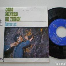 Discos de vinilo: CORO MINERO DE TURON - ASTURIAS - EP HISPAVOX 1963. Lote 133912798