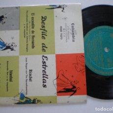 Discos de vinilo: DESFILE DE ESTRELLAS - EP COLUMBIA ESPAÑA 1950S. Lote 133913202