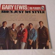 Discos de vinilo: ALBUM DEL GRUPO NORTEAMERICANO DE POP ROCK, GARY LEWIS & THE PLAYBOYS. Lote 133924514