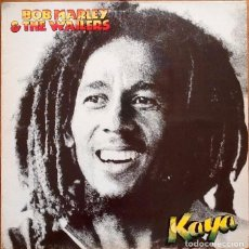 Discos de vinilo: BOB MARLEY & THE WAILERS : KAYA [ESP 1978]. Lote 133926066