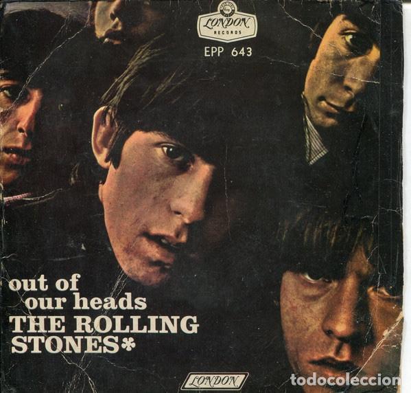 THE ROLLING STONES - OUT OF OUR HEADS - EP - EDITION MEXICO (Música - Discos de Vinilo - EPs - Pop - Rock Extranjero de los 70)