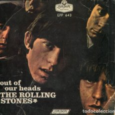 Discos de vinilo: THE ROLLING STONES - OUT OF OUR HEADS - EP - EDITION MEXICO. Lote 133926442