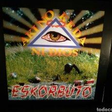 Discos de vinilo: ESKORBUTO - AKI NO KEDA NI DIOS - LP. Lote 133928069