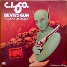 Discos de vinilo: C.J. & CO. : DEVIL'S GUN [ESP 1977] LP. Lote 133937218