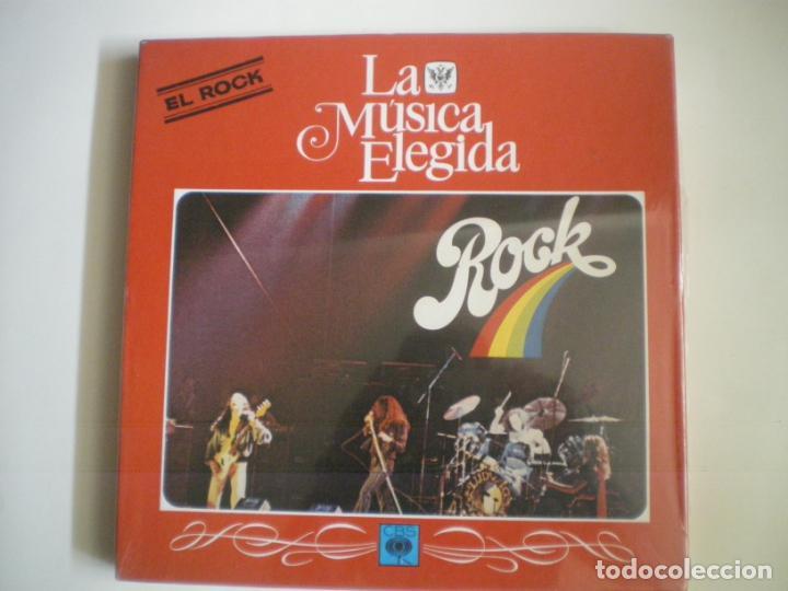 LA MUSICA ELEGIDA ROCK (Música - Discos - LP Vinilo - Jazz, Jazz-Rock, Blues y R&B)
