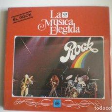 Discos de vinilo: LA MUSICA ELEGIDA ROCK. Lote 133946934