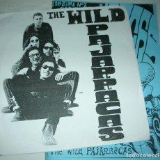 Discos de vinilo: THE WILD PAJARRACAS - EP + FANZINE -. Lote 133951398