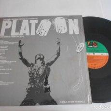 Discos de vinilo: PLATOON-LP BSO. Lote 133951910