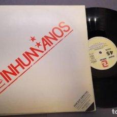 Discos de vinilo: LOS INHUMANOS LP VINILO . Lote 133952510