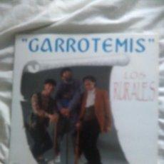 Discos de vinilo: LOS RURALES-GARROTEMIS. Lote 133953206