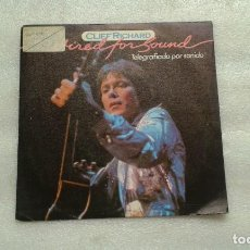 Discos de vinilo: CLIFF RICHARD - WIRED FOR SOUND SINGLE 1981 EDICION ESPAÑOLA. Lote 133955390