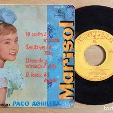 Discos de vinilo: MARISOL EP CARITA DE AZUCENA + 3 MONTILLA. Lote 133959614